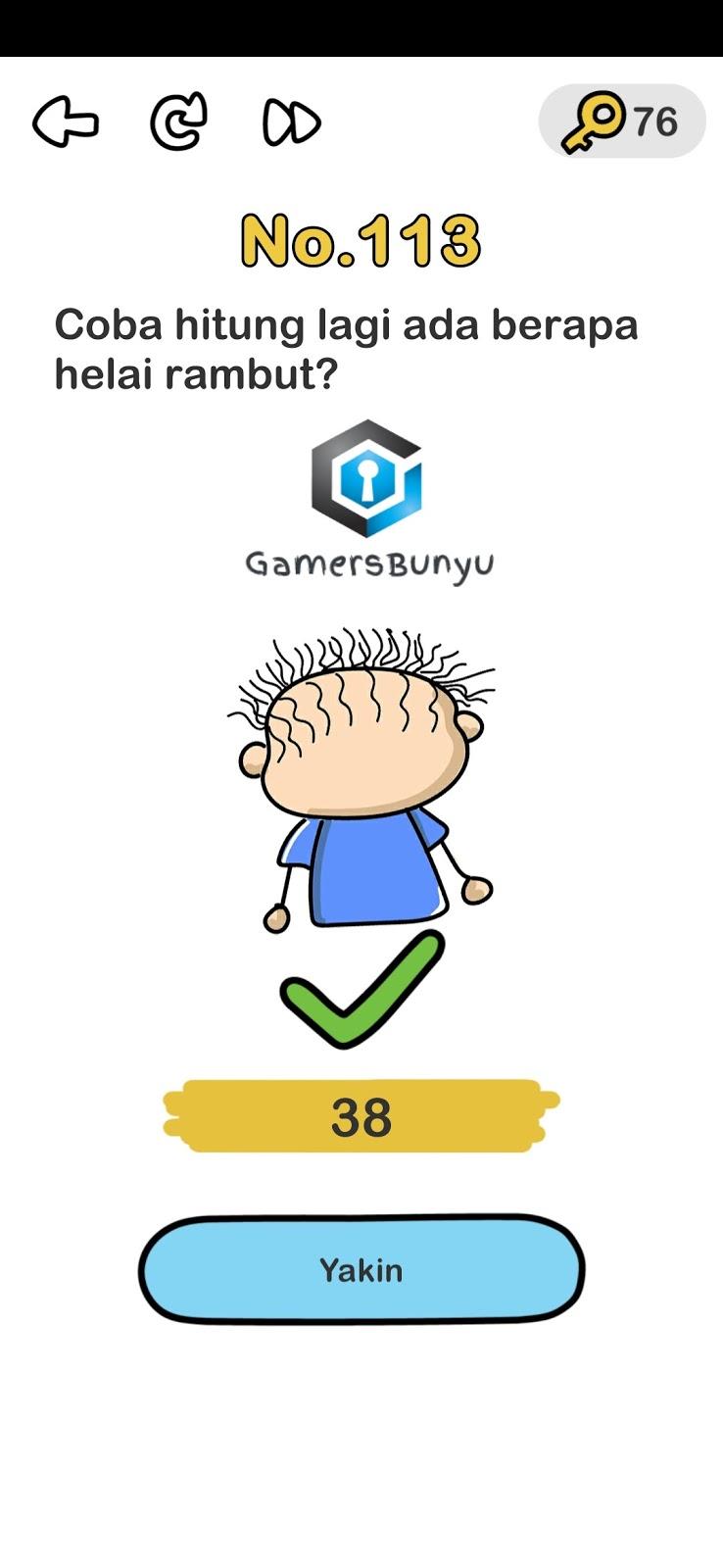 Kunci Jawaban Brain Out Level 113 : kunci, jawaban, brain, level, Jawaban, Brain, Level, Gamers, Bunyu