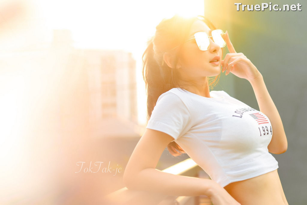 Image Thailand Model - Pattamaporn Keawkum - Crop Top and CK Underwear - TruePic.net - Picture-10
