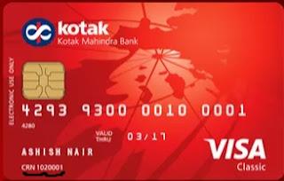 Debit Card for Kotak 811 CRN number forgot