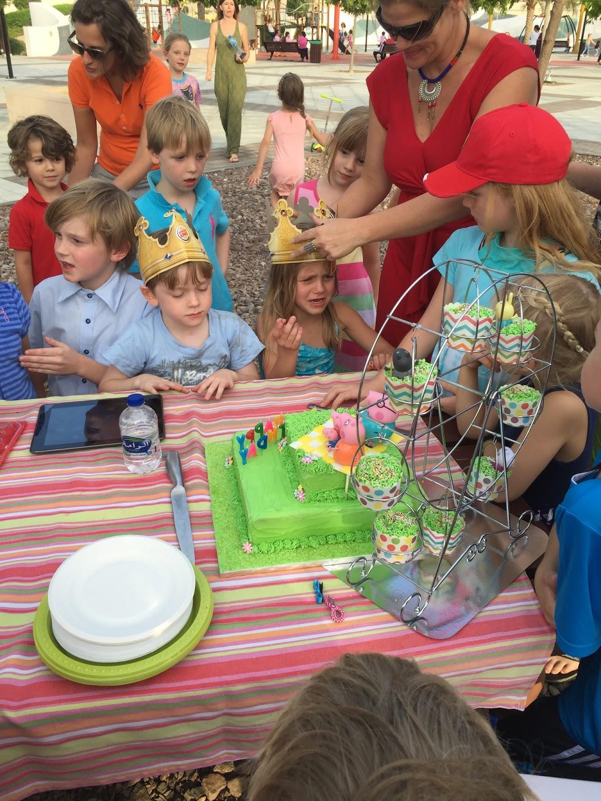 Life In Abu Dhabi Birthday Fun At The Splash Park
