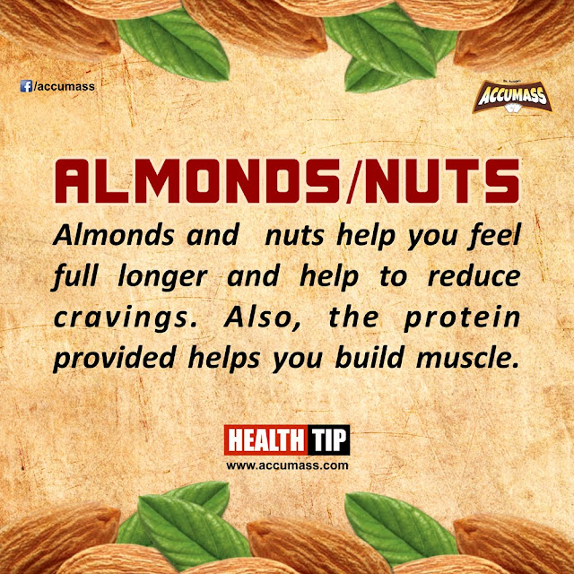 Almonds and Nuts Health Benefits