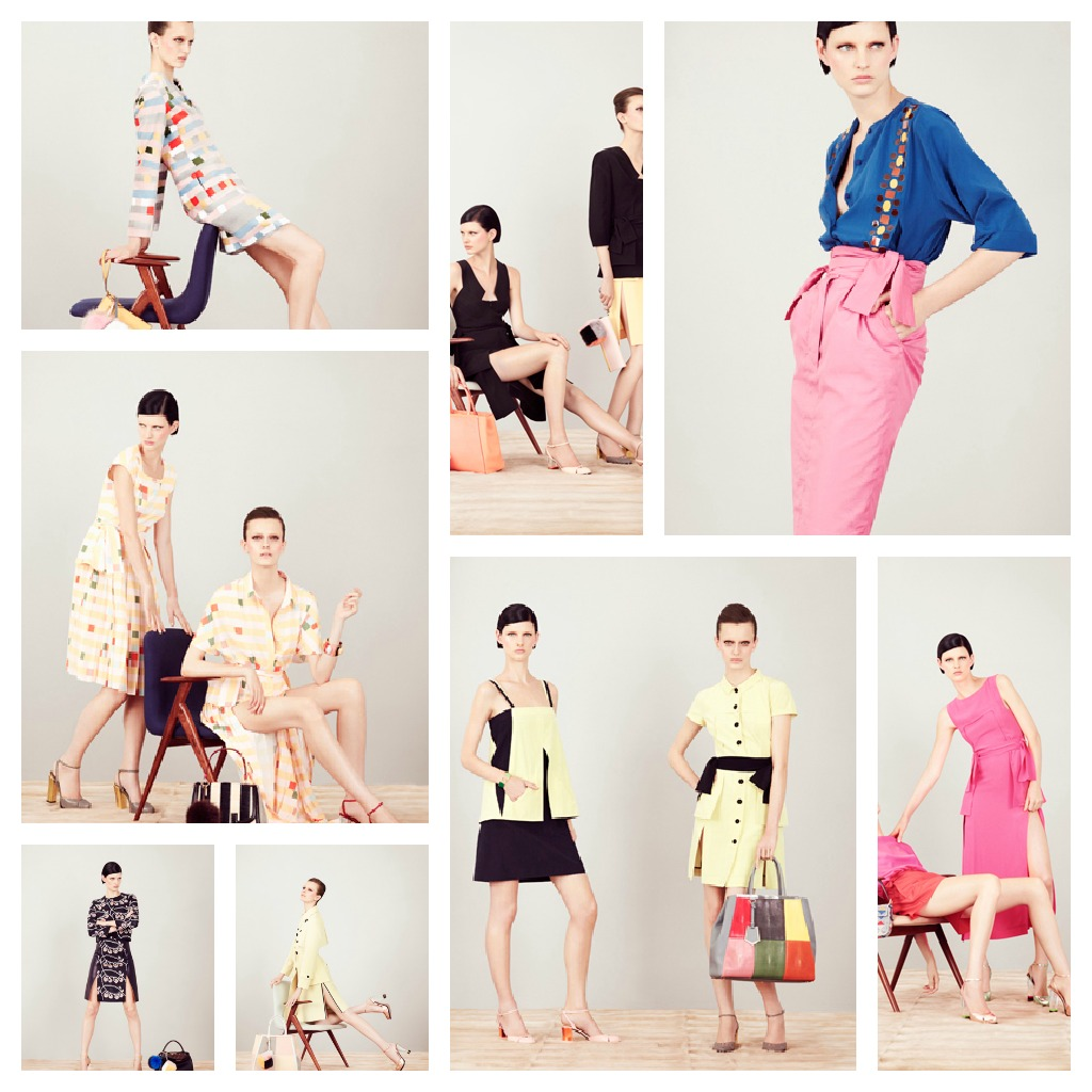 7137407b The Resort 2013 collection for Fendi by Karl Lagerfeld was Reminiscent of  70's fashion. The ultra feminine collection with its pastel shades, ...