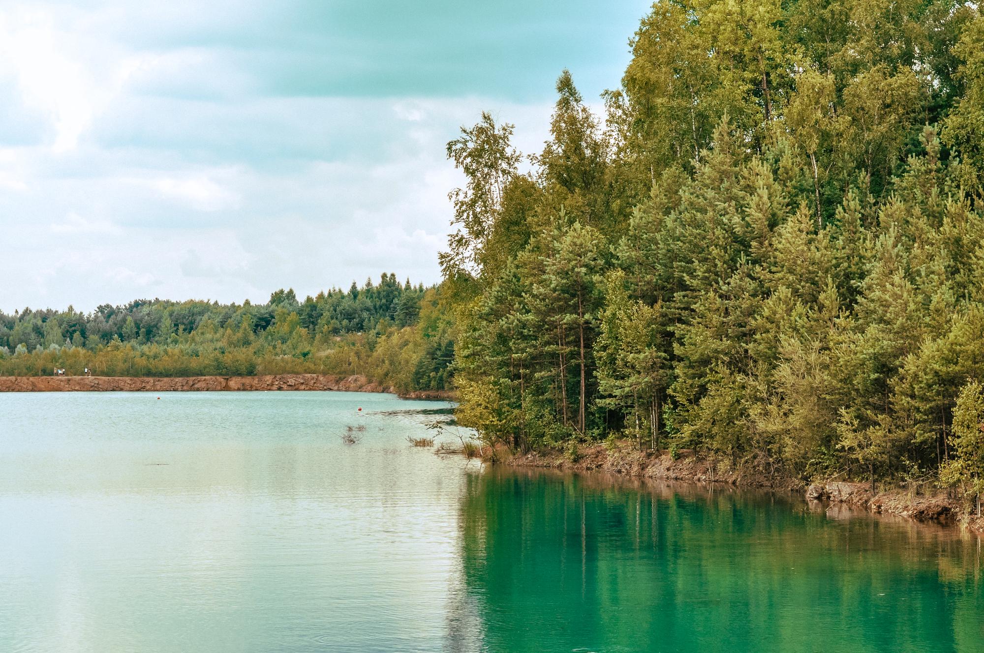 Park Gródek Jaworzno - zbiornik Koparki