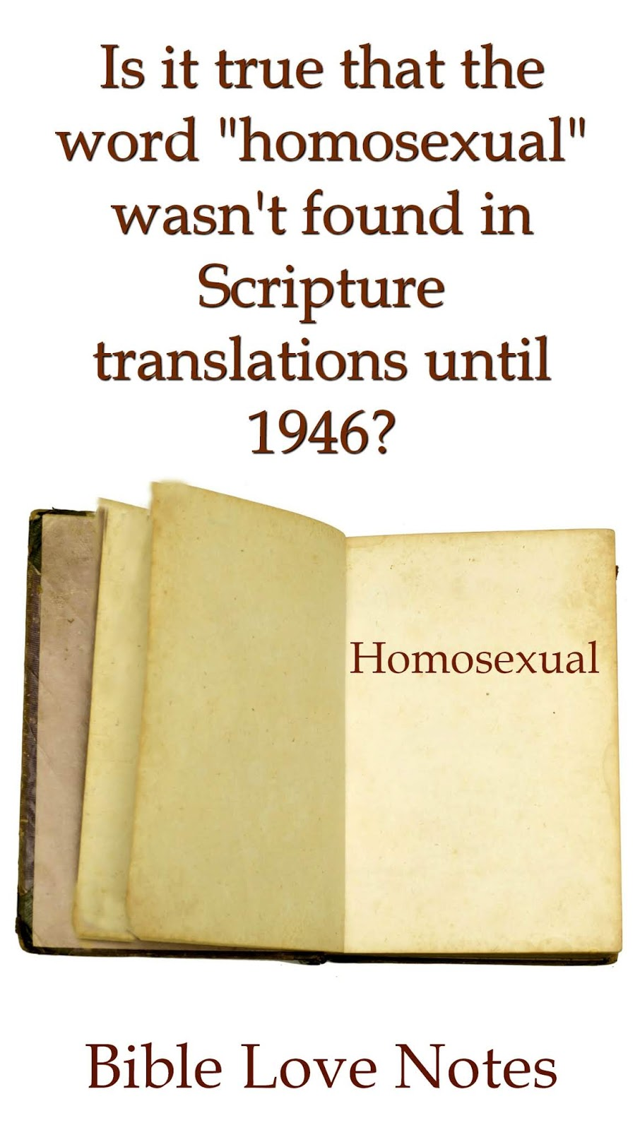 Bible scripture on homosexuality