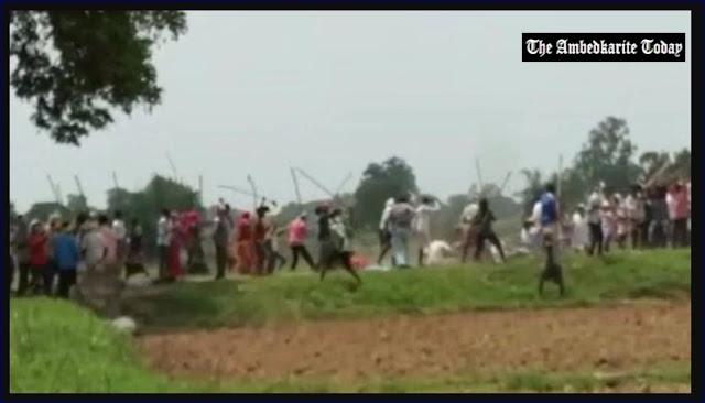 Sonbhadra massacre Firing Videos : Gunshots, Man Falls To Ground, Attacked With Sticks in UP