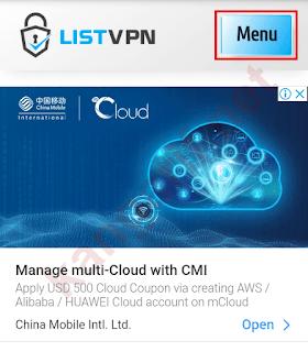 membuat akun pptp vpn gratis di listvpn.net