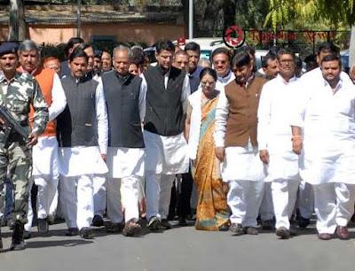 Ashok Gehlot, Sachin pilot, Rajasthan Pradesh Congress Committee, BJP MLAs, Kailash Chaudhary, Gyan Dev Ahuja, Ashok Gehlot