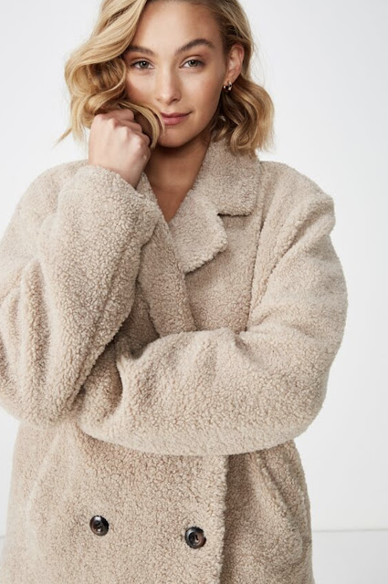 Max Mara teddy bear coat dupe