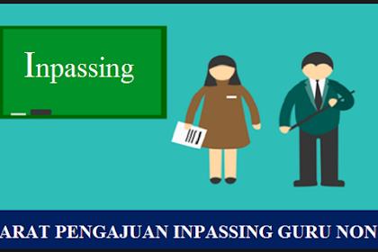 Syarat Pengajuan Inpassing Guru Non PNS 2021