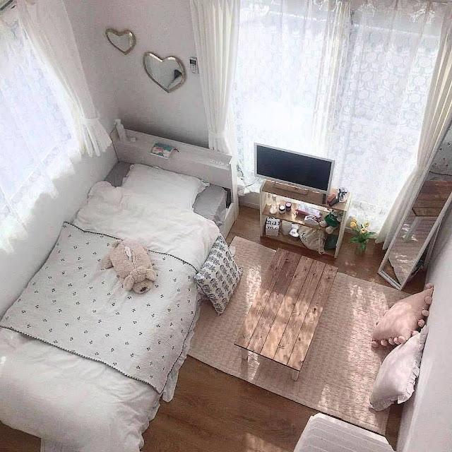 Ide Dekorasi Kamar Tidur Kecil Sederhana Namun Terasa Luas