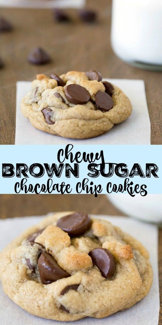 Chewy Brown Sugàr Chocolàte Chip Cookie Recipe