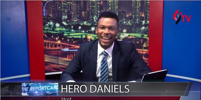 LindaIkejiTV's host, Hero Daniels