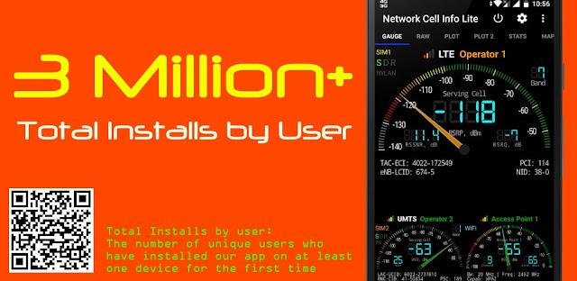 تنزيل  تطبيق Network Cell Info 5.0.13 -تطبيق قوي لمراقبة الشبكة وعرض المعلومات لأبراج الهواتف المحمولة والأجهزة اللوحية