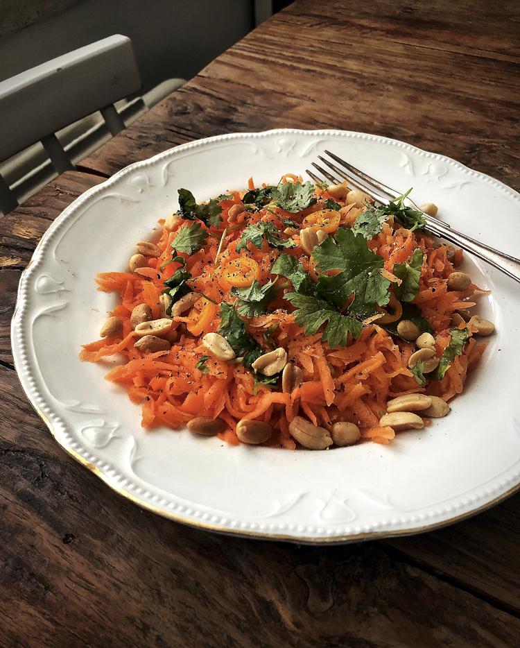 maustettu porkkanaraaste
