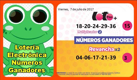 loteria-electronica-numeros-ganadores-viernes-7-7-2017