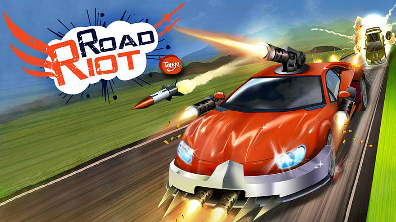 تحميل لعبة road riot مهكره 2018
