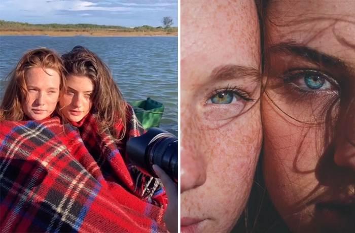 Halyson, a Brazilian photographer, posts his work process on social media