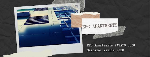 EEC Apartments PATATO BLDG Sampaloc Manila 2020