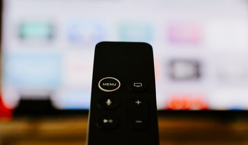 TV Remote and Screen