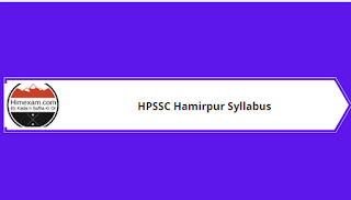 Syllabus For The  Post Video Film Editor -HPSSC Hamirpur
