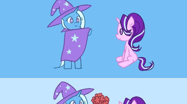 https://derpicdn.net/img/view/2018/7/14/1780680__safe_artist-colon-derpy_malaleche_starlight+glimmer_trixie_comic-colon-trixie+x+starlight+glimmer_clapping_comic_female_flower_kissing_lesbian.jpeg