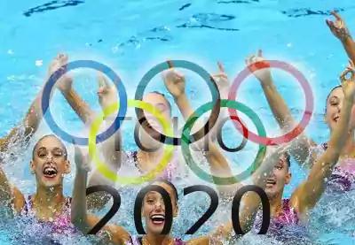 anillos olímpicos natación sincronizada tokio 2020