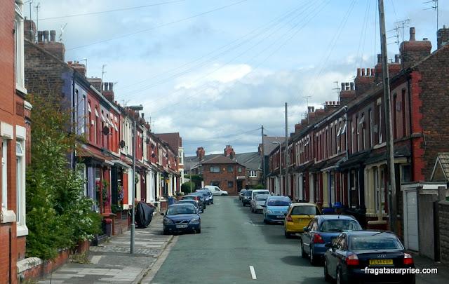 Casa dos avós de John Lennon em Newcastle Road, Liverpool