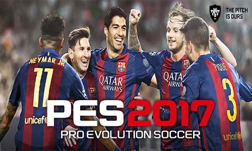 غلاف لعبة بيس Pro Evolution Soccer 2017