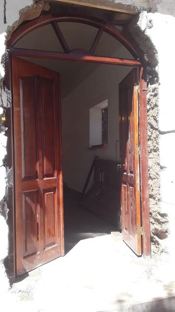 Bald seid ihr hier wieder herzlich willkommen in der Kapelle von Zapatera Bolivien