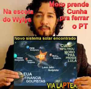 Para salvar o petista Lula, Jean Wyllys do PSOL defende corruptos Eduardo Cunha Sérgio Cabral e Garotino