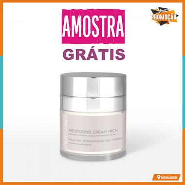 Amostras Grátis - Creme Reparação Extrema Monuskin