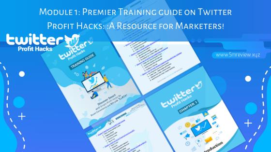Twitter Profit Hacks Module1