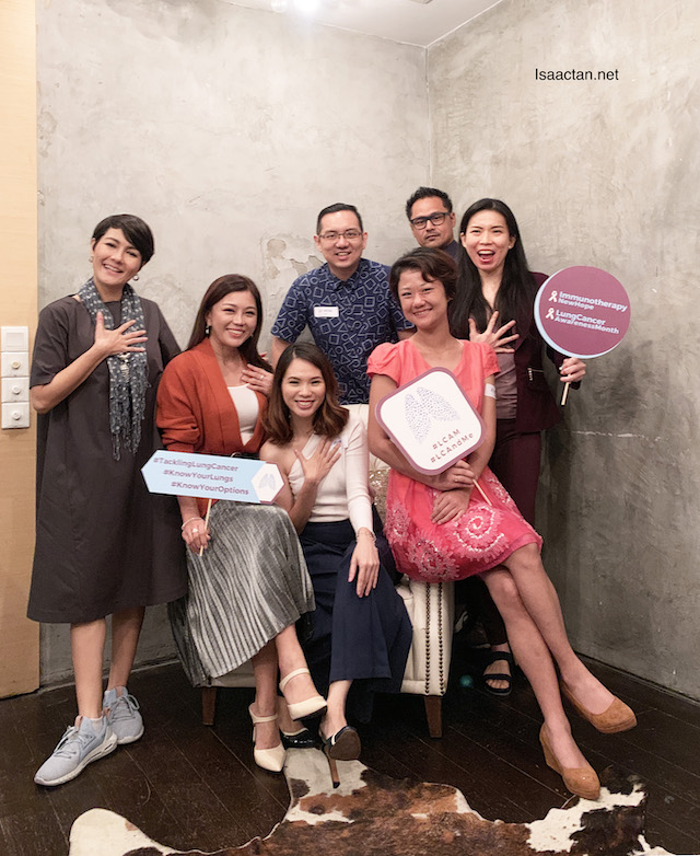 Lung Cancer And Me Blogger Workshop 2019