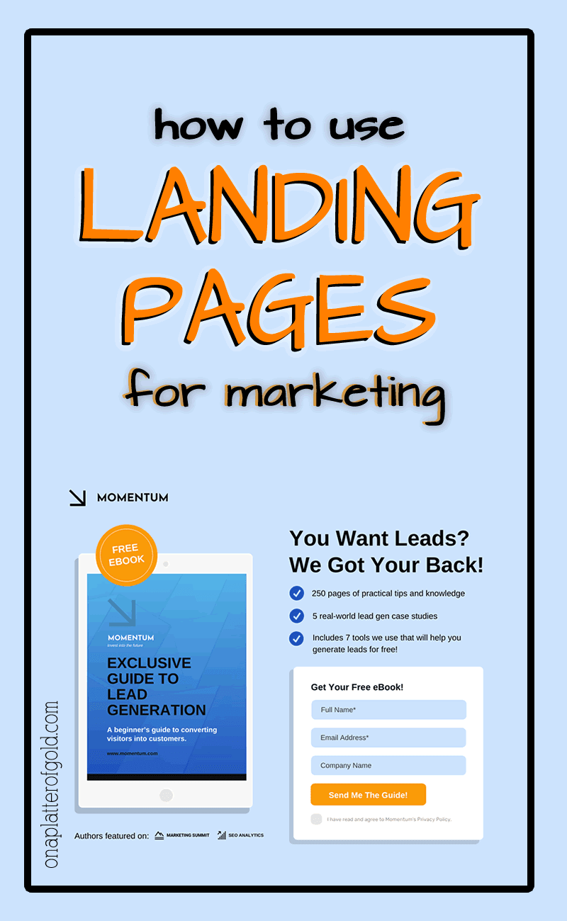 How To Effectively Use Landing Pages For Business Marketing