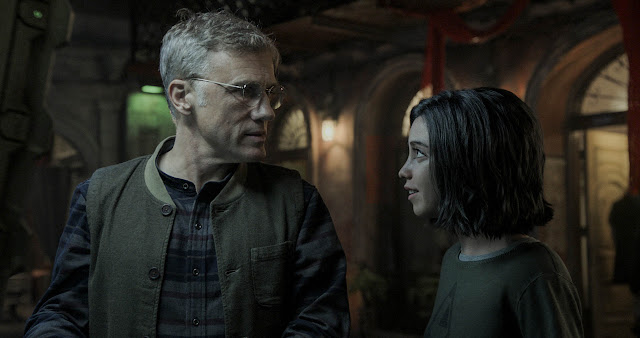 Rosa Salazar Christoph Waltz James Cameron Robert Rodriguez | Alita: Battle Angel