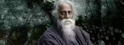 """Man shouldn't be lost in the grief of separateness because ultimately he has to meet his creator, his inevitable source, the father of mankind, God. Man is the coloured shadow of God, God separates Himself into many forms, one is man. Tagore believes that the same life runs through the vein of man which runs through Him. Tagore speaks of the all pervasiveness of God. He is the impelling force within man. He is """"the innermost one"""" who """"awakens my being within his deep hidden touches"""" But man forgets about this truth because of God's created maya and man seeks Him everywhere with an unsatisfactory mind and soul and he is - unable to feel this omnipresence in himself. As in Upanishads, says the Rishi about this mystic experience."""
