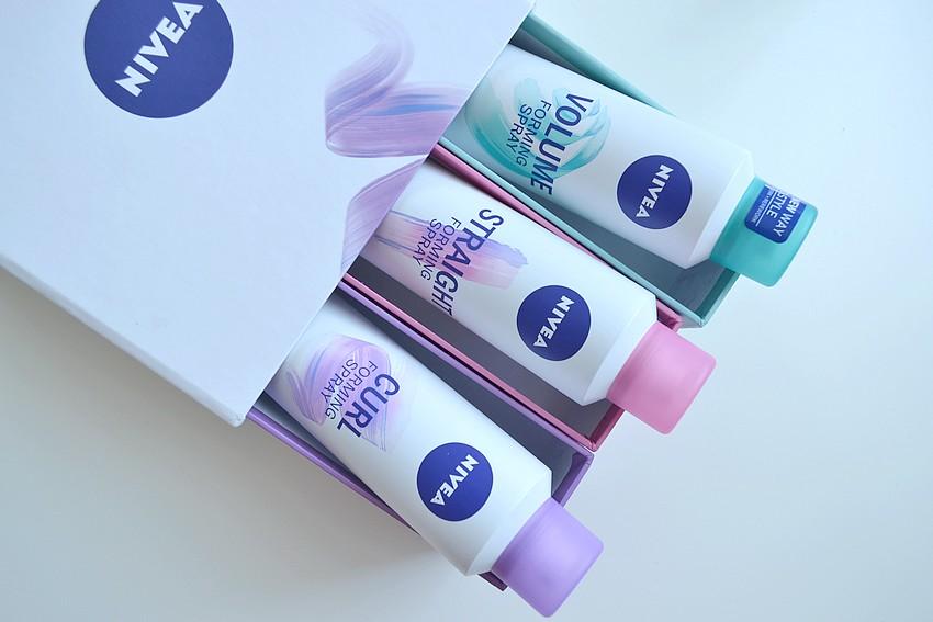 NIVEA spray modelujący do różnego typu włosów