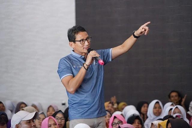 Jokowi Stop Kebohongan Politik, Sandiaga Uno: Biarkan Rakyat yang Menilai