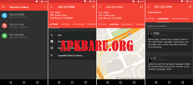 Reverse Lookup PLUS w/ Call ID v3.1.21 Apk Terbaru