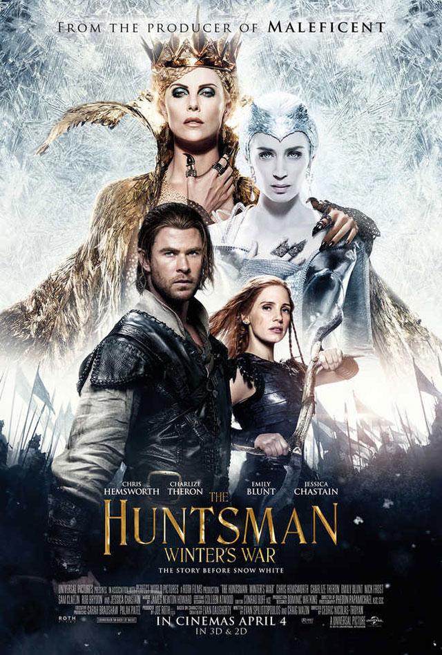 映画 スノーホワイト 氷の王国 ポスター
