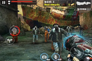 graphics quality of dead target mod apk