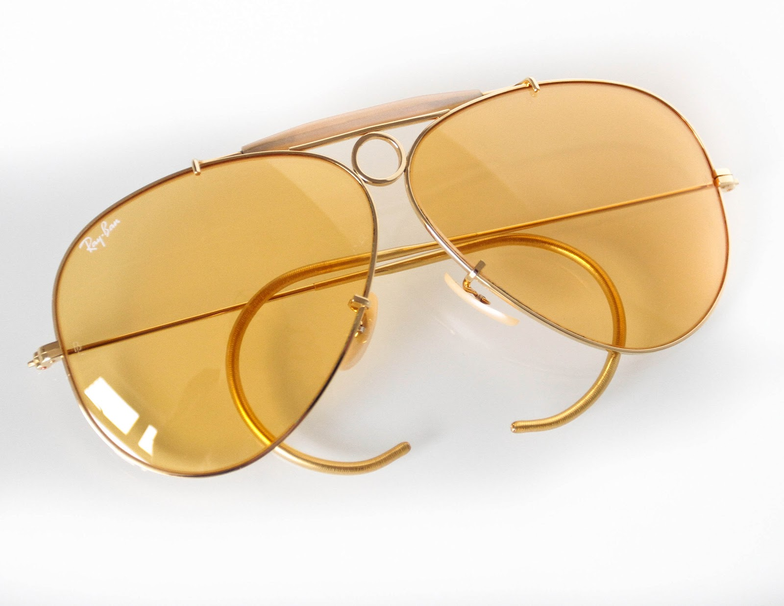 5108ecca89 Ray Ban Yellow Shooter Kalichrome « One More Soul