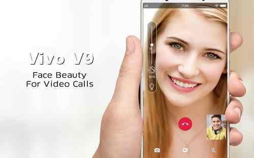 Video Call di HP Vivo V9 Menggunakan Face Beauty Fitur