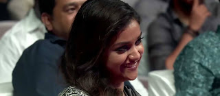 Keerthy Suresh with Cute Smile at Sarkar Audio Launch 1