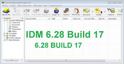 تفعيل  برنامج أنترنت دونالد منجر IDM 628 build 17 بواسطة Crack