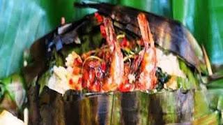 Resep Nasi Bakar Seafood Petai