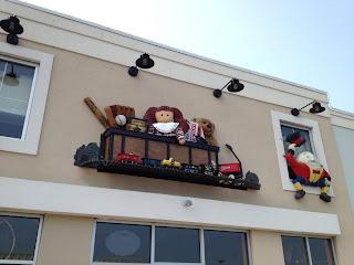 fachada de loja infantil