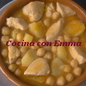 Garbanzos con pollo