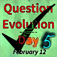 Article about the religious nature of evolutionism, reactions of anti-creationists to the fifth annual Question Evolution Day , a discussion of some behind-the-scenes aspects of QED, and more.