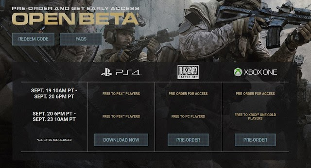 Call of Duty Modern Warfare Official announce of requirements